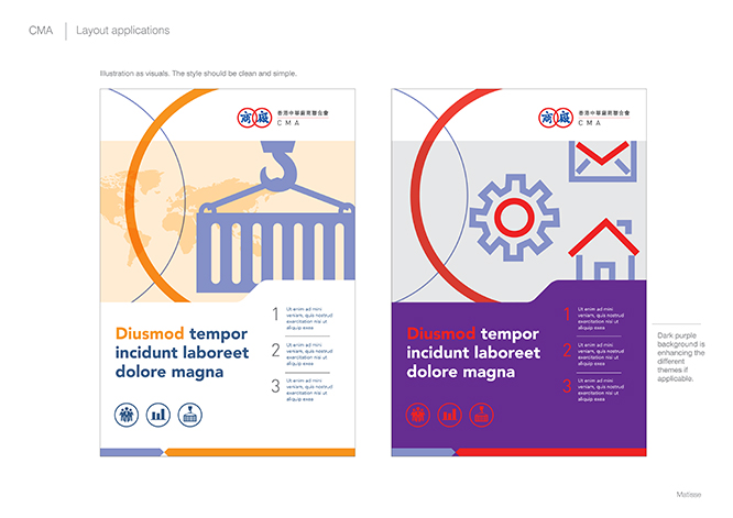 Poster & leaflet in illustrations