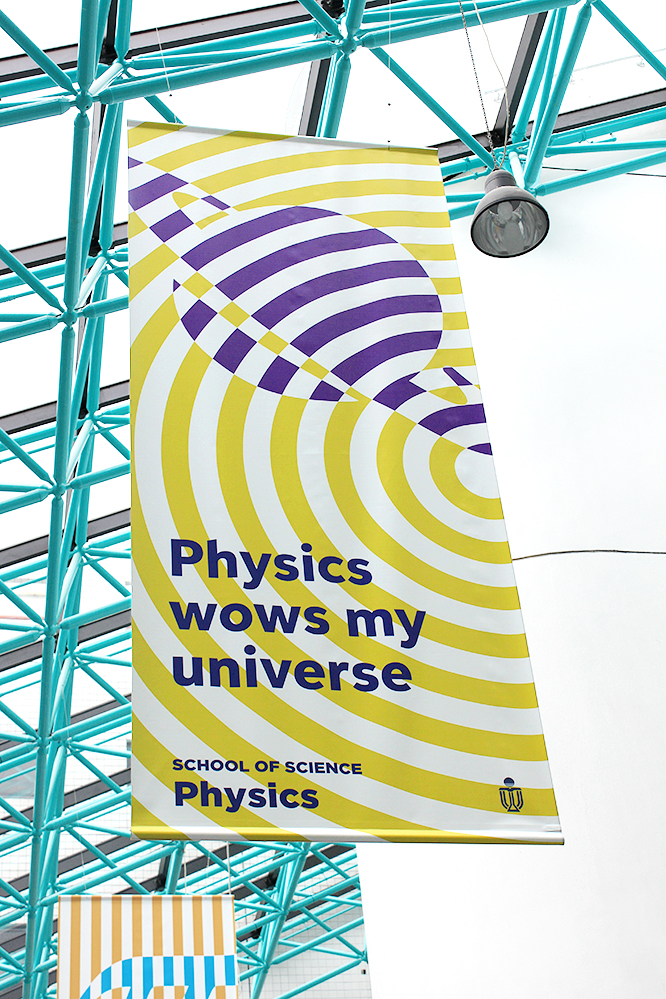 Physics wows my universe