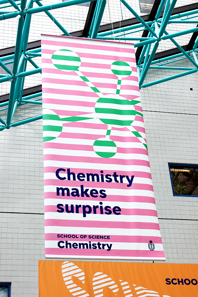 Chemistry makes surprise